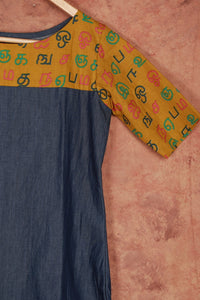 Agaram Kurti (Soft Cotton Denim)