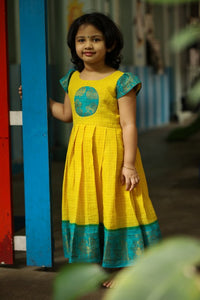Kanmani Sungudi - Yellow