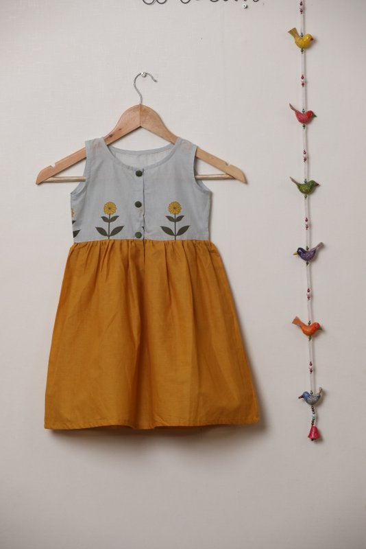 Sunflower Yellow Frock