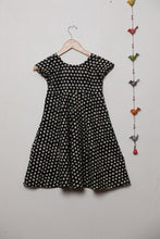 Load image into Gallery viewer, Black Polka Frock