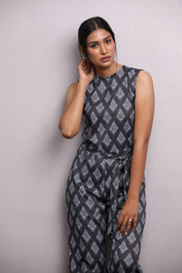 Deni Grey Jumpsuit