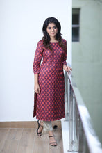 Load image into Gallery viewer, Ikat Kurti