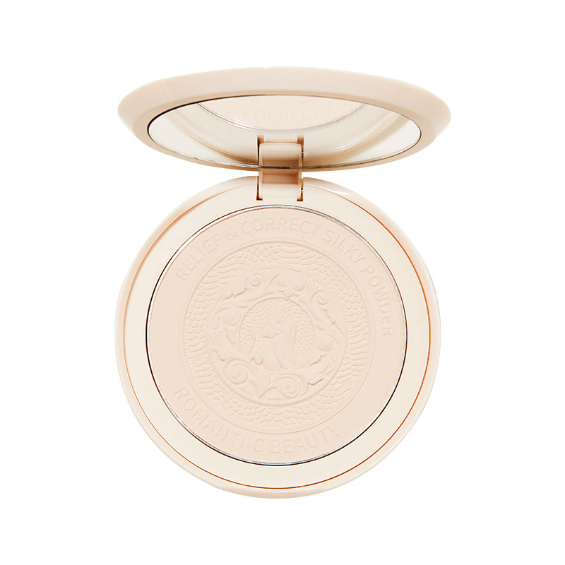 Romanticbeauty X Iris Ouyang Nana makeup powder is durable, oil - controlled, waterproof and sweat - resistant