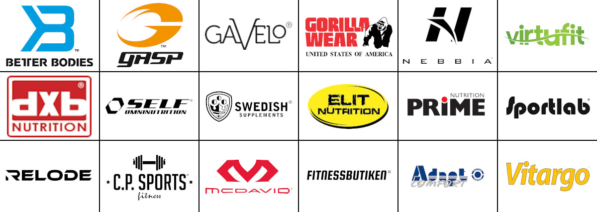 Brands in Fitnessbutiken