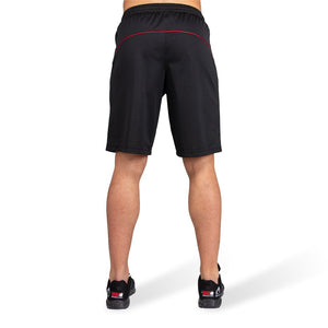 Branson Shorts Black Red