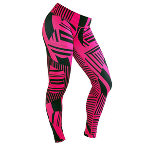 Fitted Abstract Tights