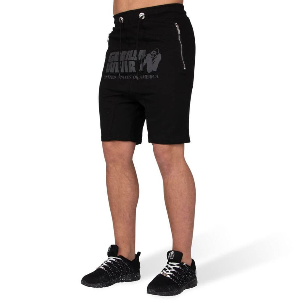 Alabama Drop Crotch Shorts Black