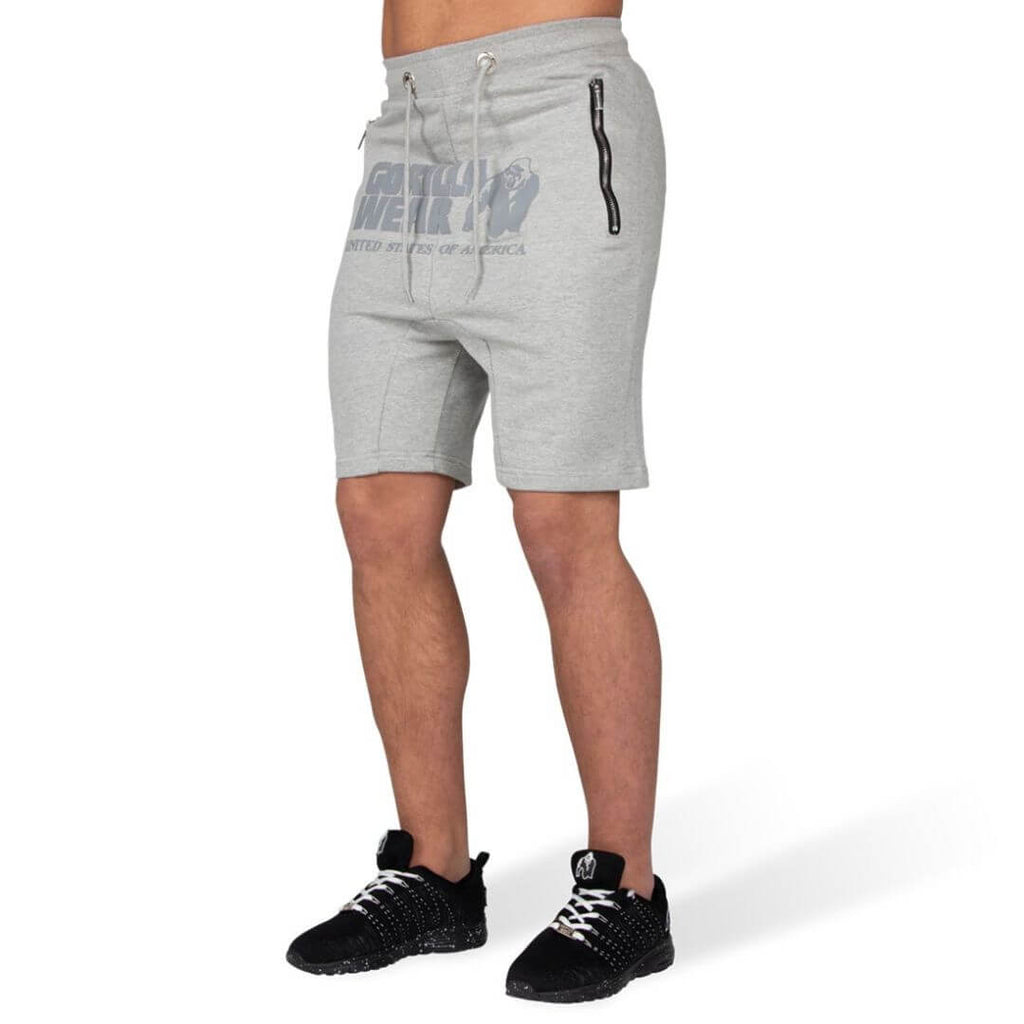 Alabama Drop Crotch Shorts Grey