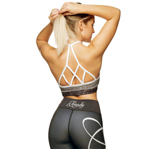 Stripes Mf Yoga Bra