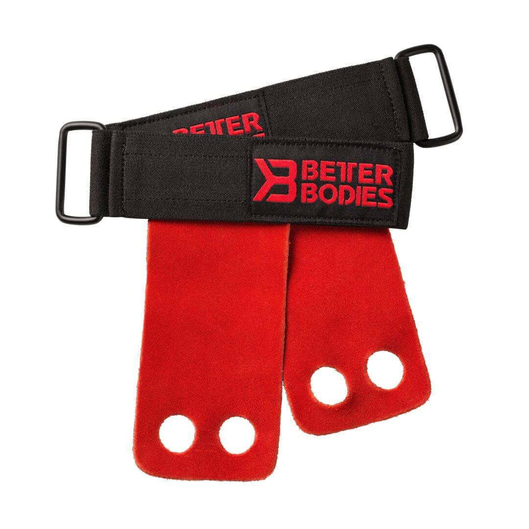 Athletic Grips Bright Red