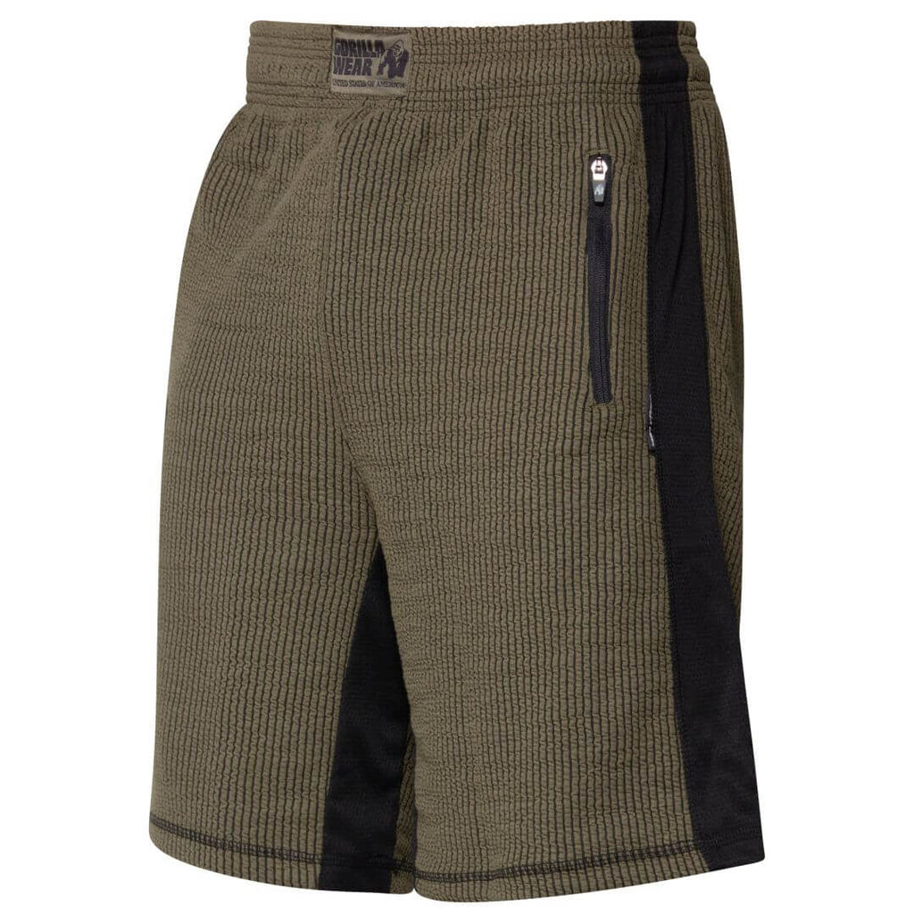 Augustine Old School Shorts Army Green