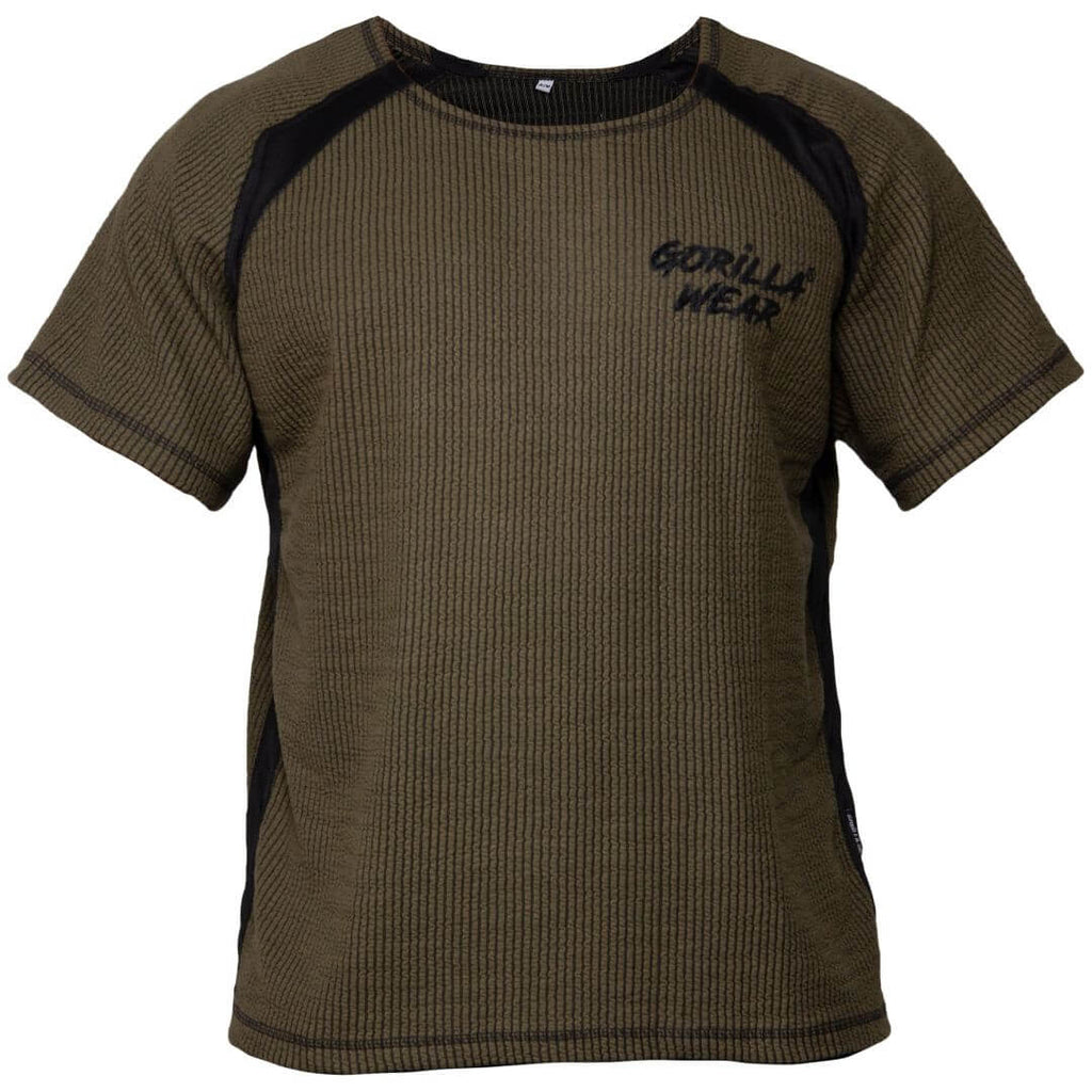 Augustine Old School Work Out Top Army Green