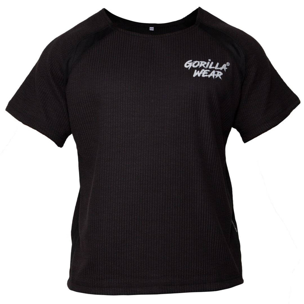 Augustine Old School Work Out Top Black