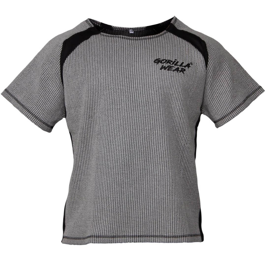 Augustine Old School Work Out Top Grey
