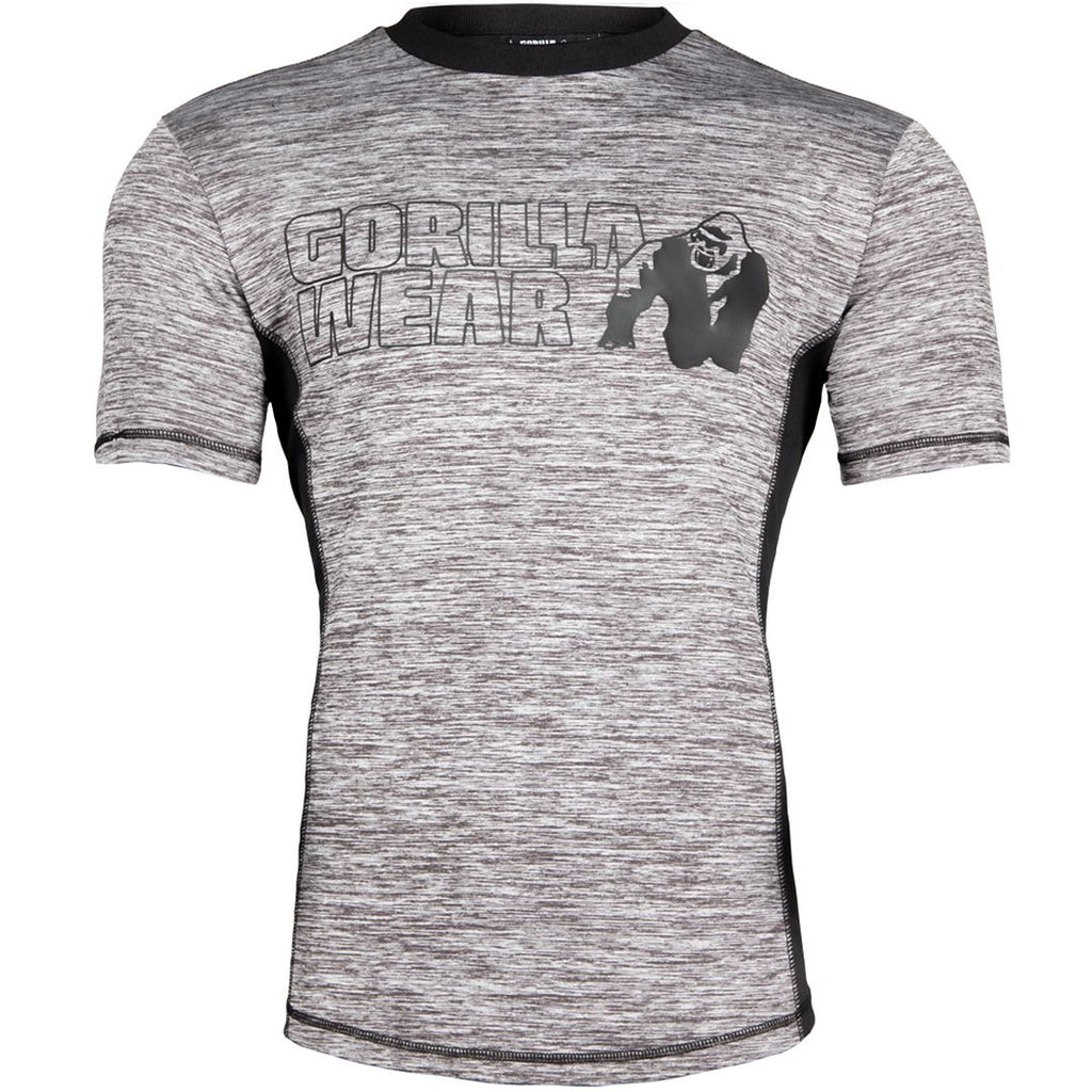 Austin T Shirt Grey Black