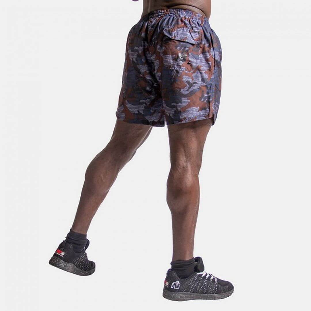 Bailey Shorts Blue Camo