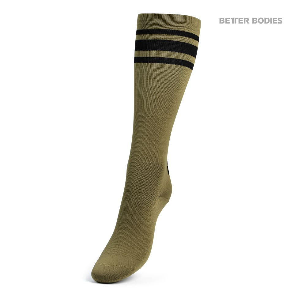 Bb Knee Socks Military Green