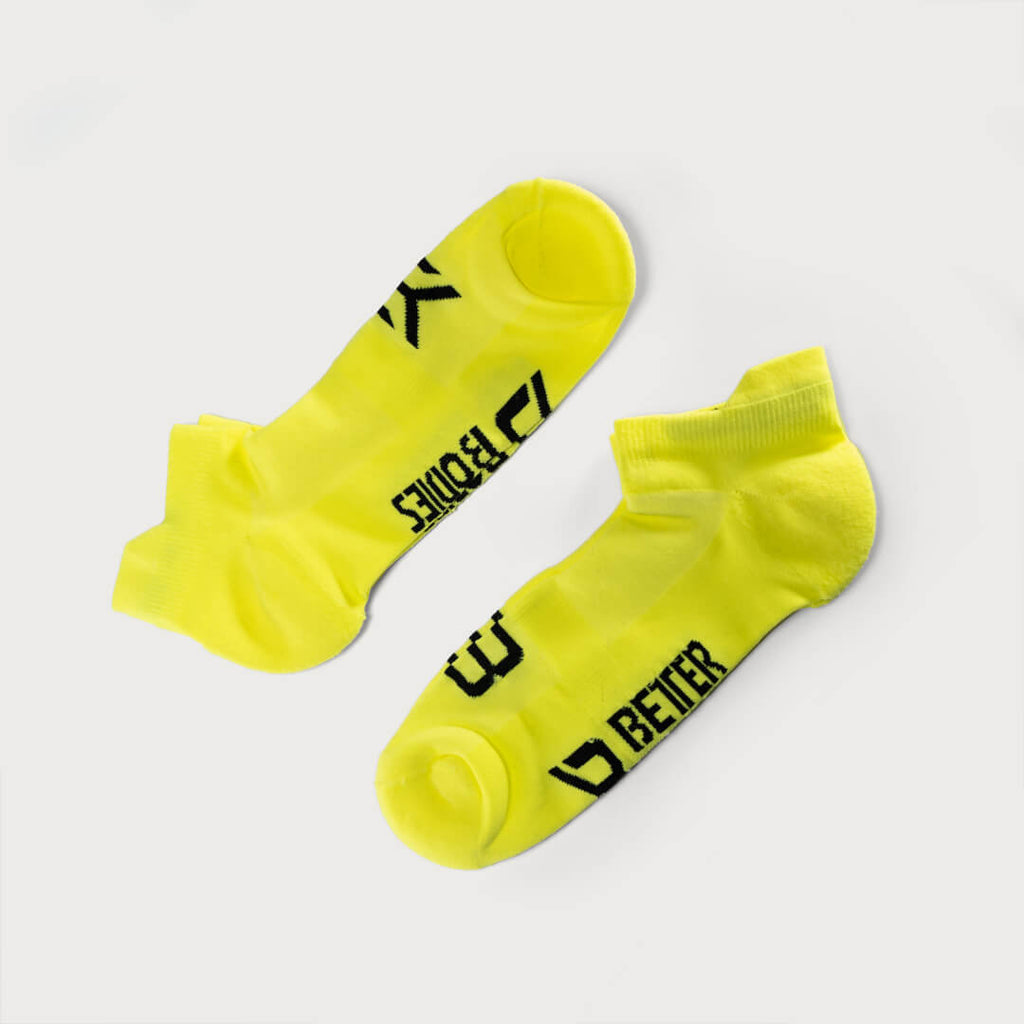 Better Bodies Short Socks Neon Yellow