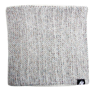 Bellevue Neck Warmer White Grey