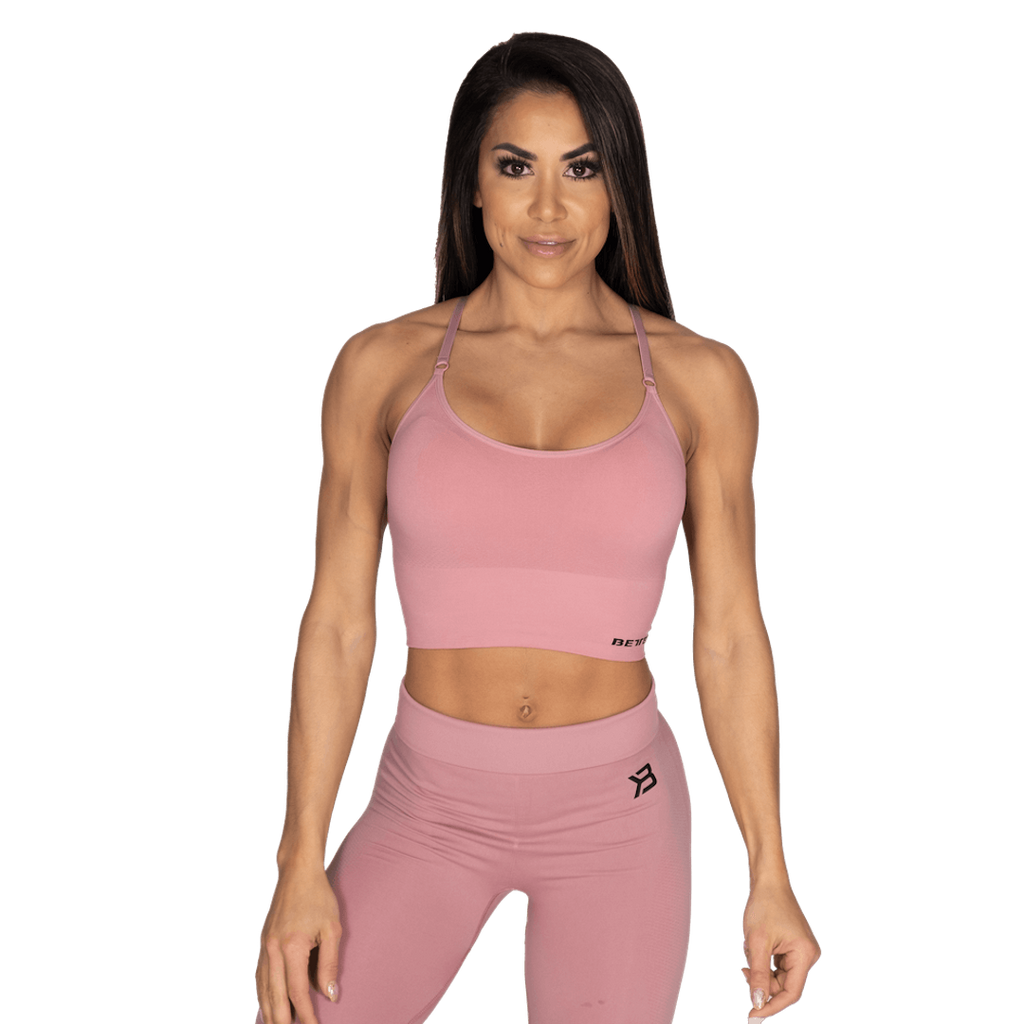 Better Bodies Astoria Seamless Bra Heather Pink