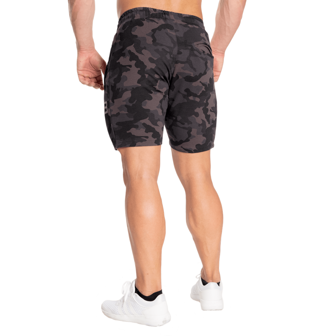 better-bodies-dark-camo-tapered-sweatshorts