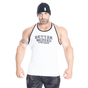 Better Bodies Jersey Rib T-Back White