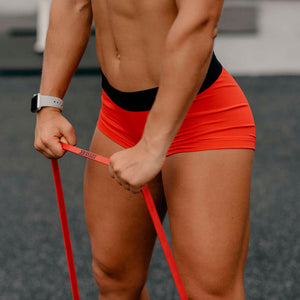 Bb Resistance Bands Bright Red