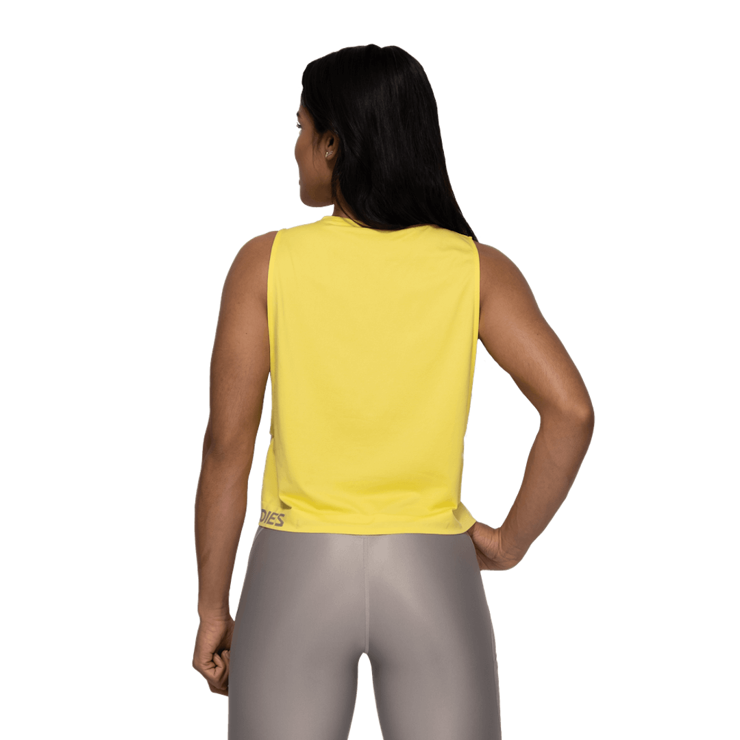 Rockaway Seamless Tank Lemon Yellow