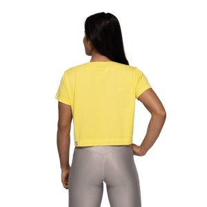 Rockaway Seamless Tee Lemon Yellow