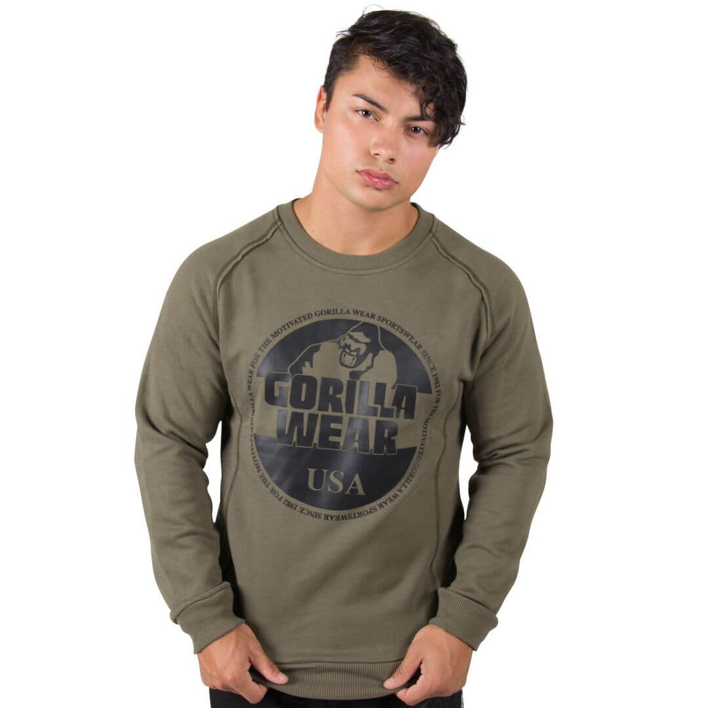 Bloomington Crewneck Sweatshirt Army Green