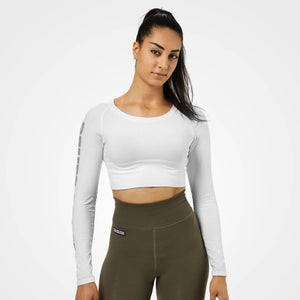 Bowery Cropped Ls White