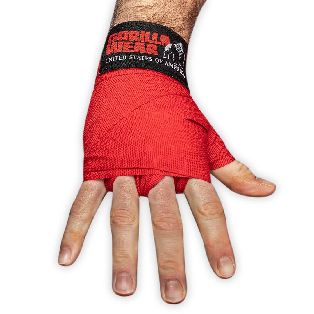 Boxing Hand Wraps Red