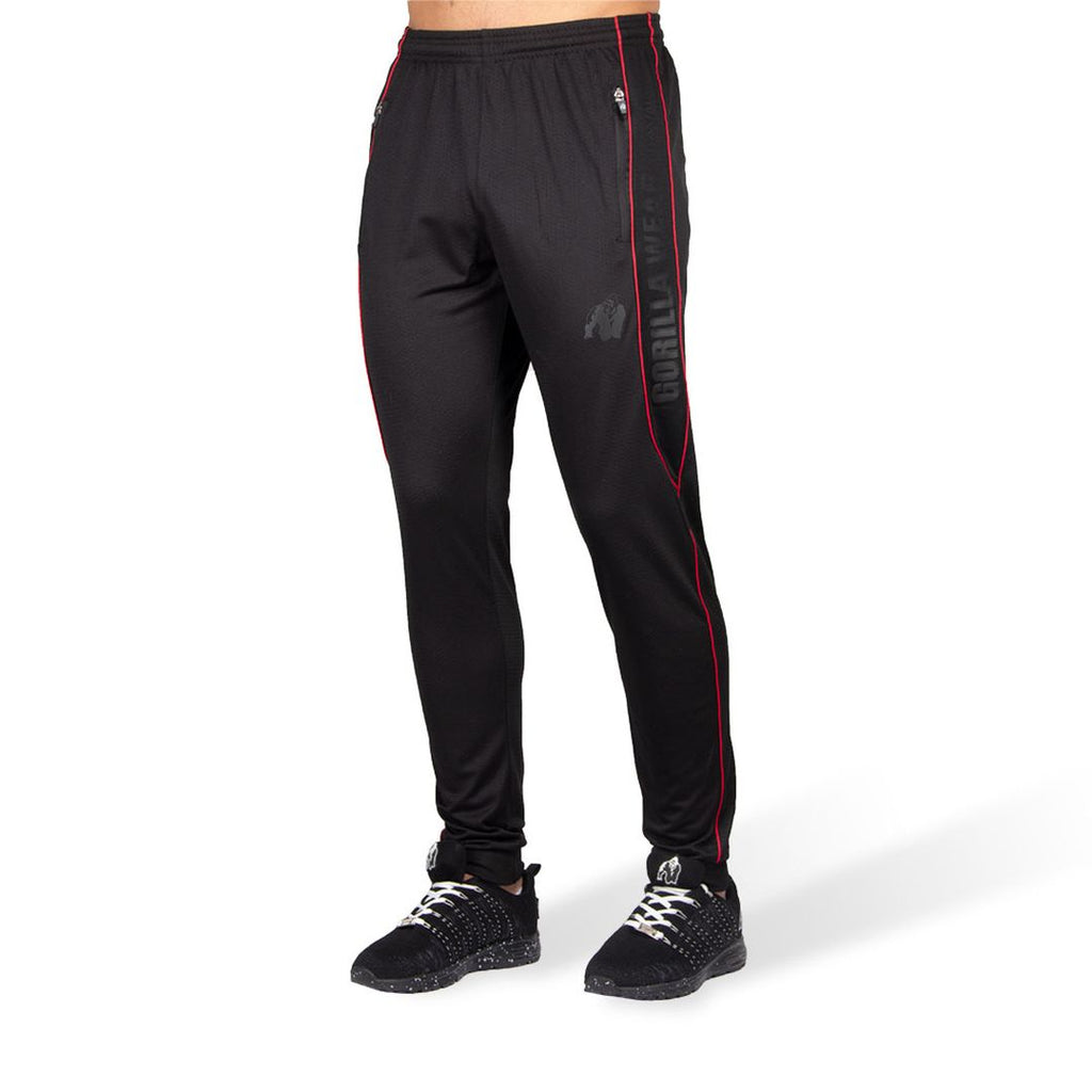 Branson Pants Black Red