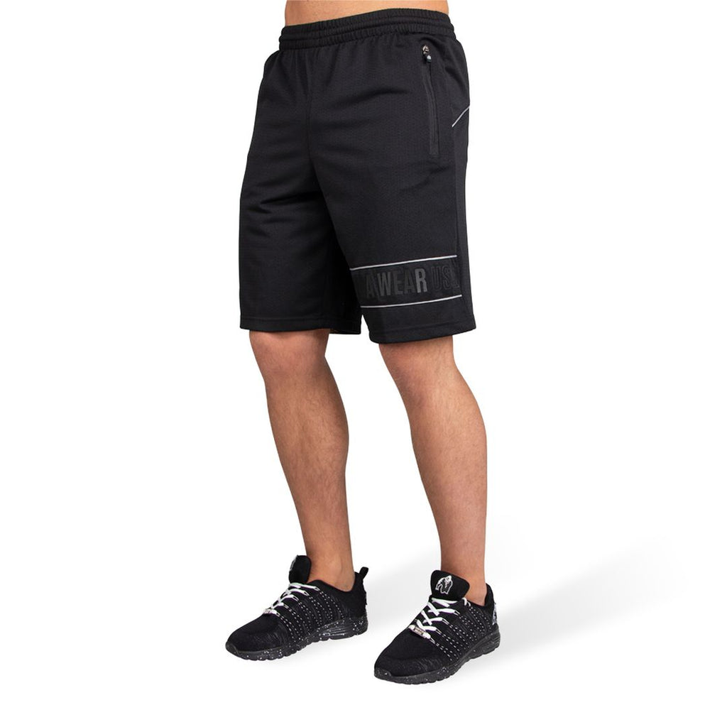 Branson Shorts Black Grey
