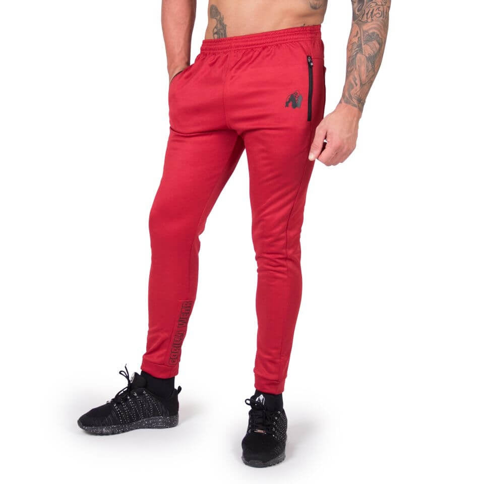 Bridgeport Joggers Red