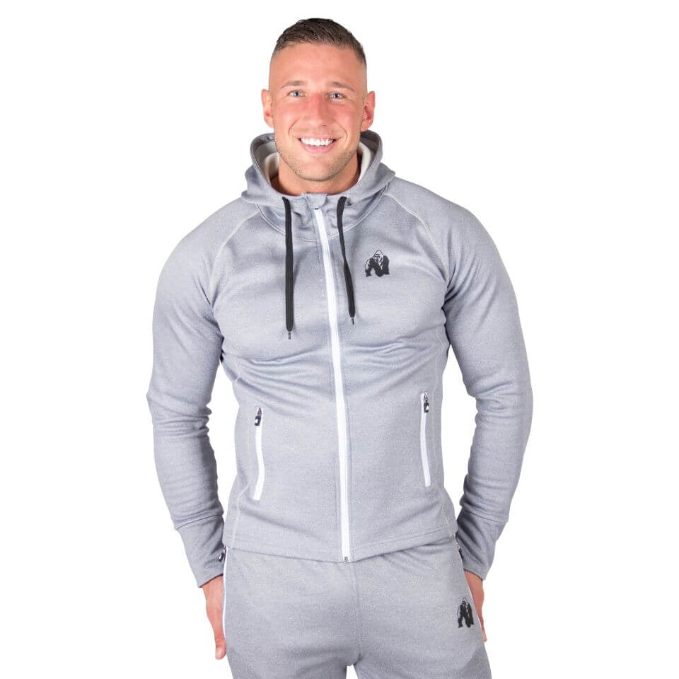 Bridgeport Zipped Hoodie Silverblue