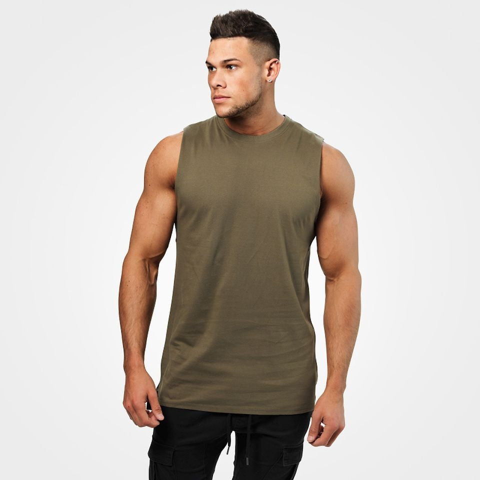 Bronx Tank Washed Green