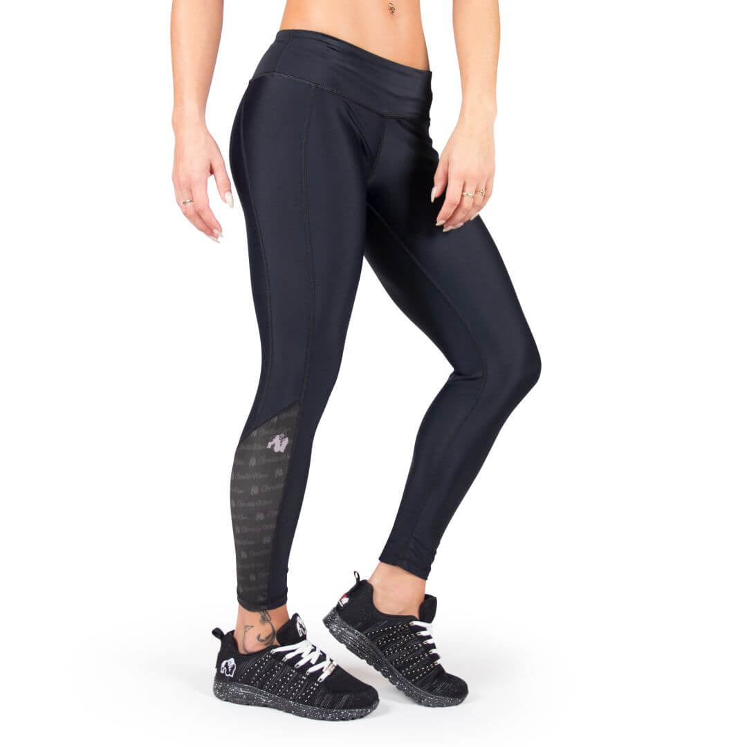 Carlin Compression Tights Black Black