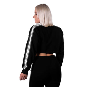 Chrystie Cropped Longsleeve Black