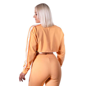 Chrystie Cropped Longsleeve Light Orange