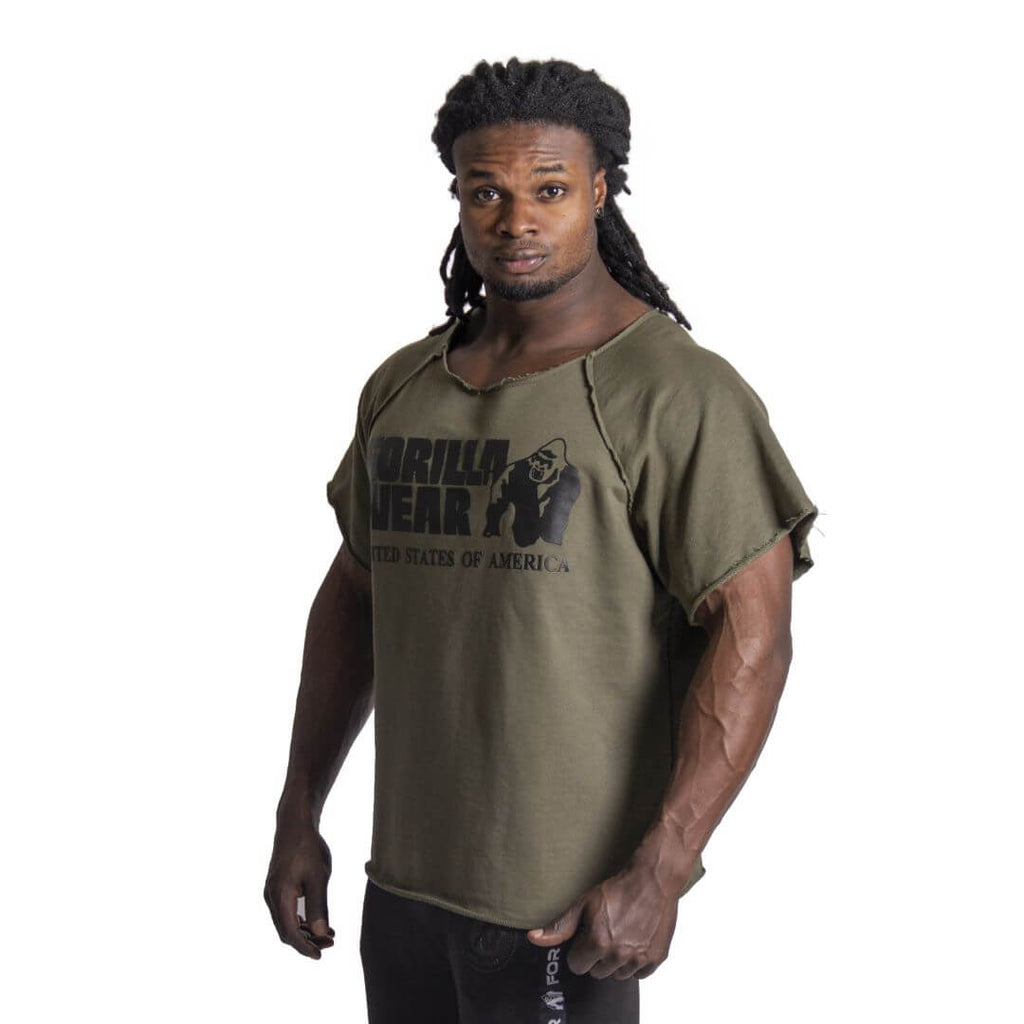 Classic Workout Top Army Green