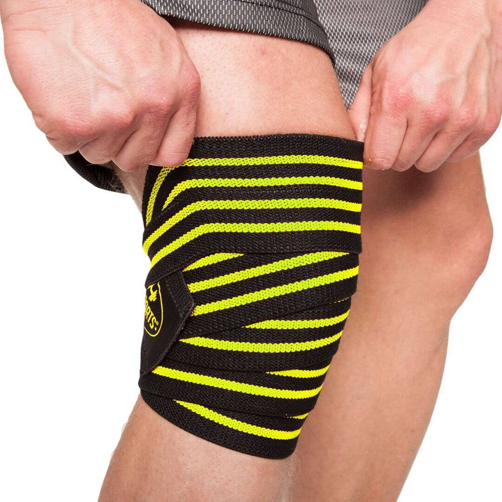 Cps Knee Wraps Yellow