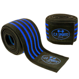 Cps Knee Wraps Blue
