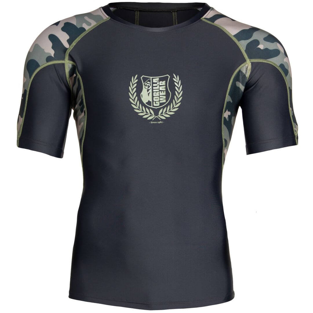 Cypress Rashguard Shortsleeve Army Green Camo