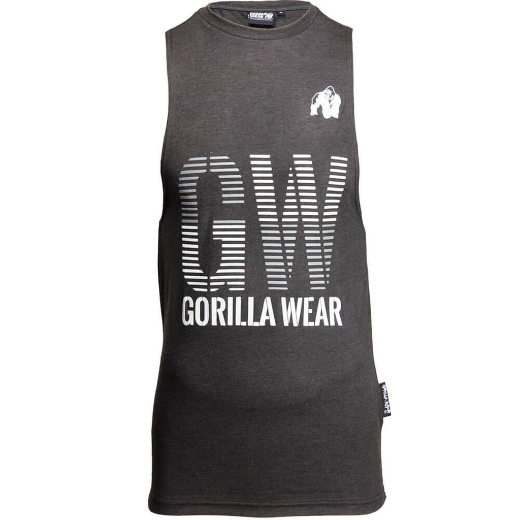 Dakota Sleeveless T Shirt Grey