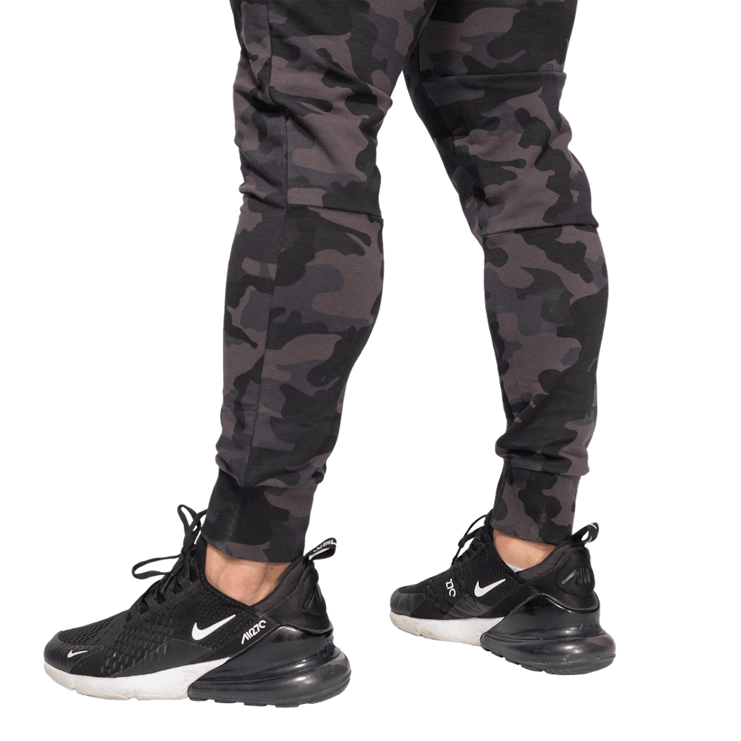 Tapered joggers V2, Dark Camo