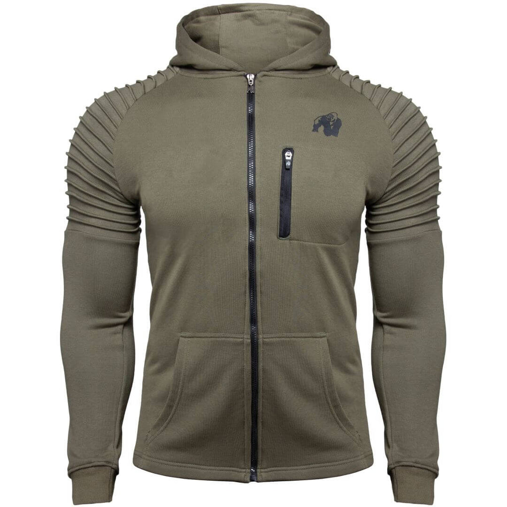 Delta Hoodie Army Green