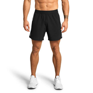 Essex Stripe Shorts Black
