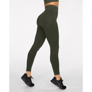fitness-gavelo-seamless-booster-forest-green-tights