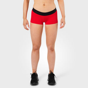 Fitness Hotpant Scarlet Red